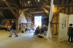 Little Bookham Tithe Barn - Enjoying the Visit