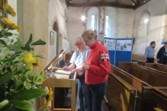 St Lawrence Church - Viewing the John Miller Bible