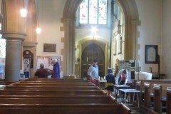 St Lawrence Church - Visitors at West End