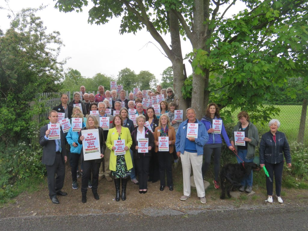 Effingham Residents say No to the Appeal