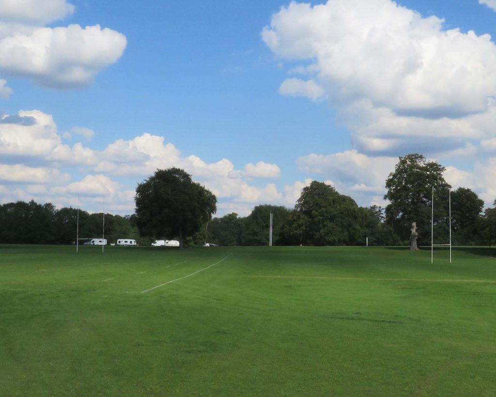 Travellers on KGV Playing Fields