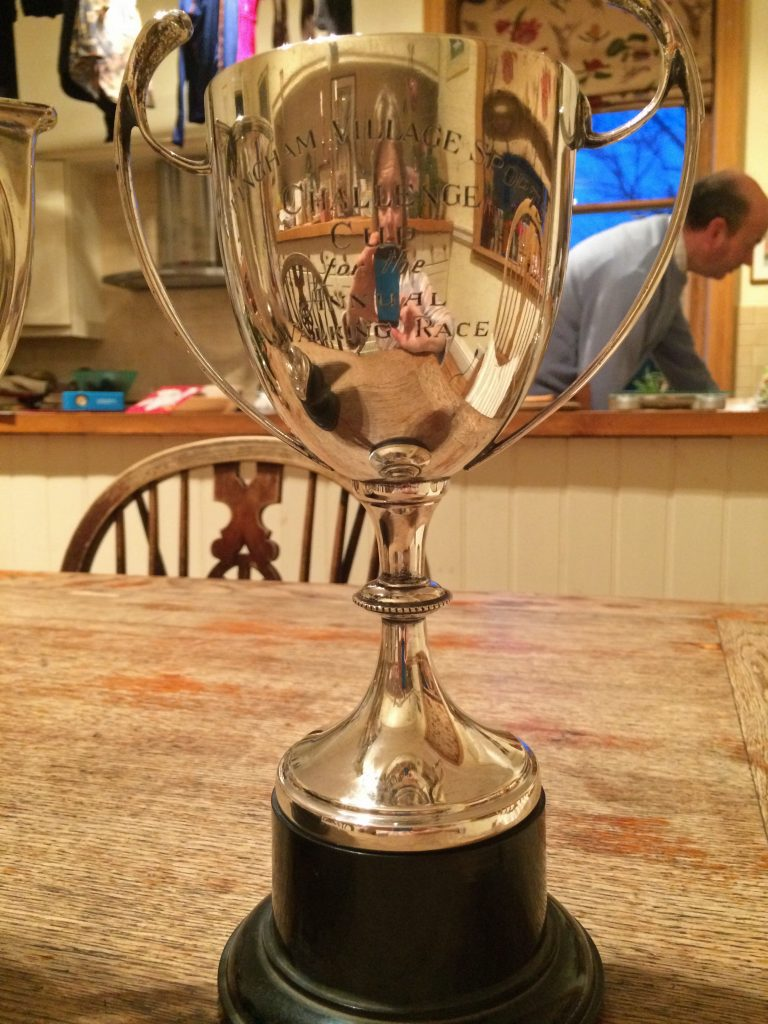 Challenge Cup for the Annual Walking Race
