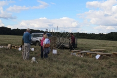 Hurdle Making on the Common
