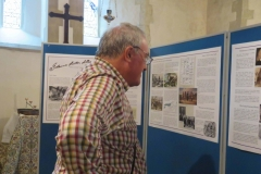 St Lawrence Church - Viewing the History Panels