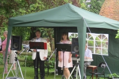 Entertainment in the Jubilee Gardens